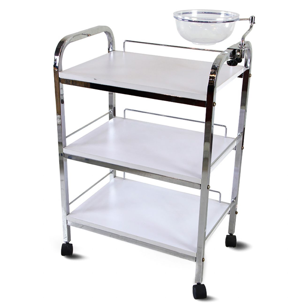 EPSI Trolley 3 shelves with manicure bowl