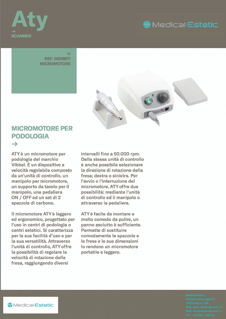 ATY Micromotore fresa